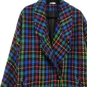 Vintage Marie France knit multicolored jacket